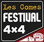 Les Comes 4×4 Festival Logo