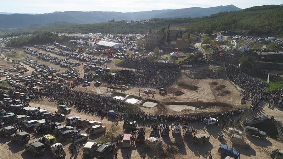 Foto aerea Les Comes 4x4 Festival